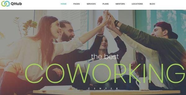 Qhub – Unyson Framework WordPress Theme