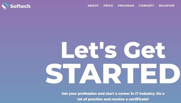 Softtech - Bright WordPress Theme