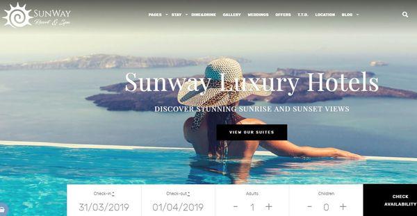 Sunway – Discount Compatible WordPress Theme
