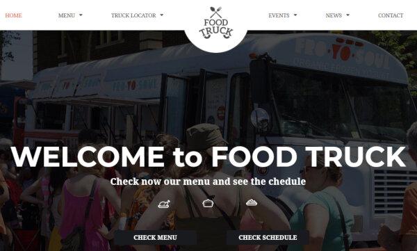 Food Truck – Revolution Slider WordPress Theme