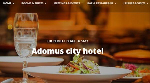 Adomus – PayPal and Stripe Integrated WordPress Theme