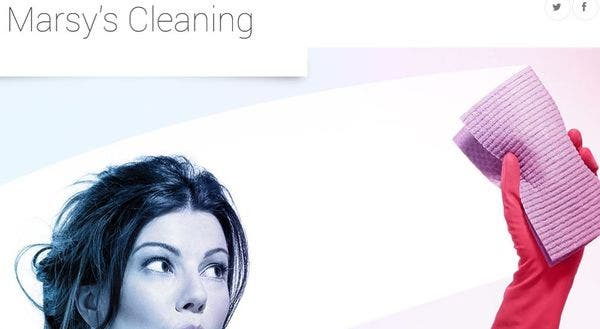 Marsy's Cleaning – BootStrap Compatible WordPress Theme