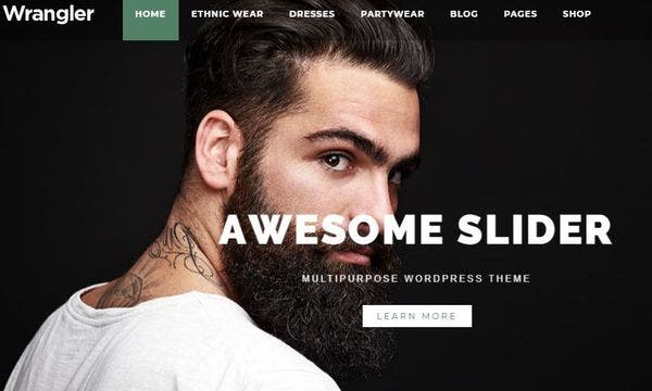 Wrangler - WooCommerce Ready WordPress Theme
