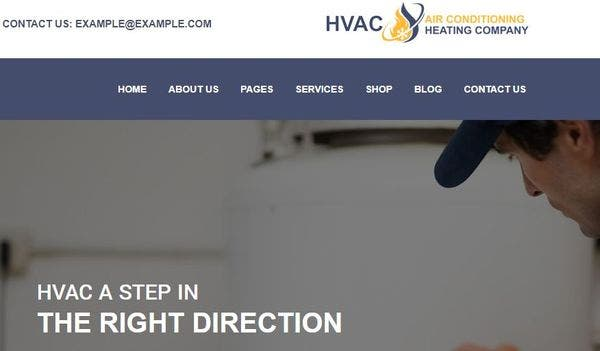HVAC Services - One-Click Demo Installation WordPress Theme