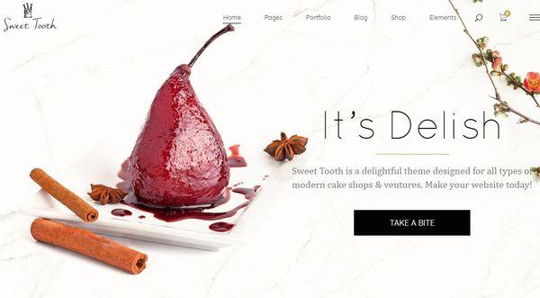Sweet Tooth – Widget Ready WordPress Theme