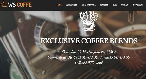 WS Coffee - Genesis Framework Supported WordPress Theme