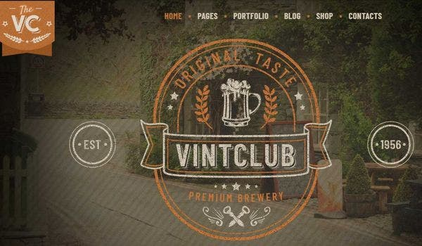 VintClub – Visual Composer WordPress Theme