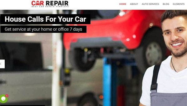 Car Repair – Animated WordPress Theme