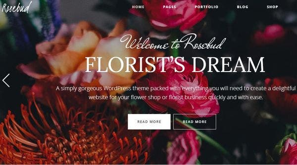 Rosebud: Responsive WordPress Theme