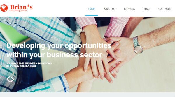 Consulting -Responsive WordPress Theme