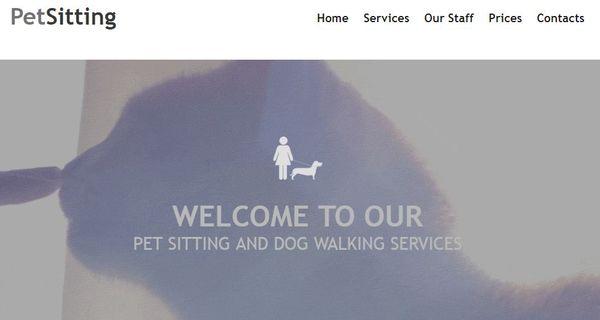 Pet Sitting – MotoCMS3 WordPress theme