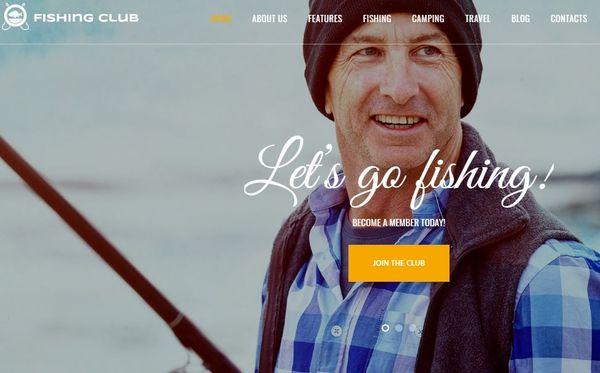 Fishing & Hunting Club – One-click demo WP Theme