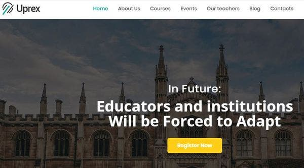 Uprex - Educational WordPress Theme