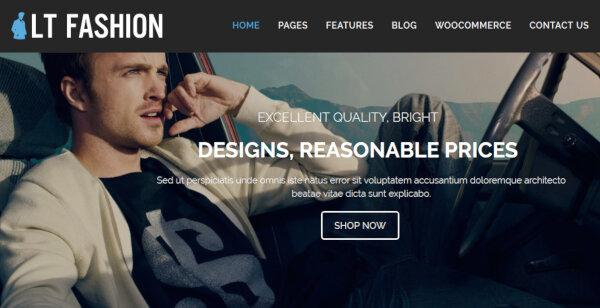 LT Fashion – Bootstrap WordPress Theme