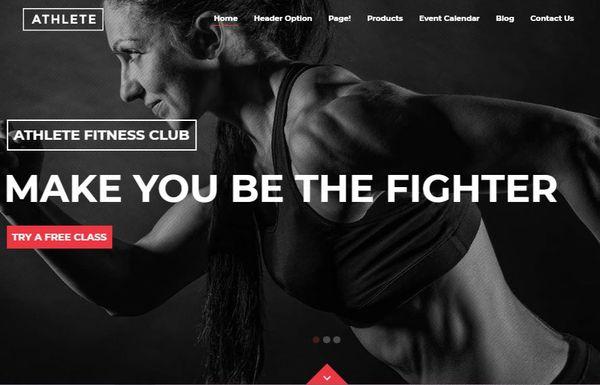 Athlete – InwaveThemes Demo Data Importer Supported WordPress Theme