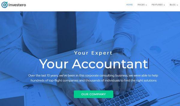 Investero – Fully Documented WordPress Theme