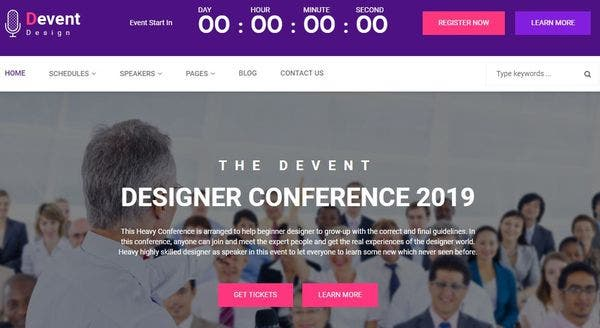 D Event – Highly Customizable WordPress Theme