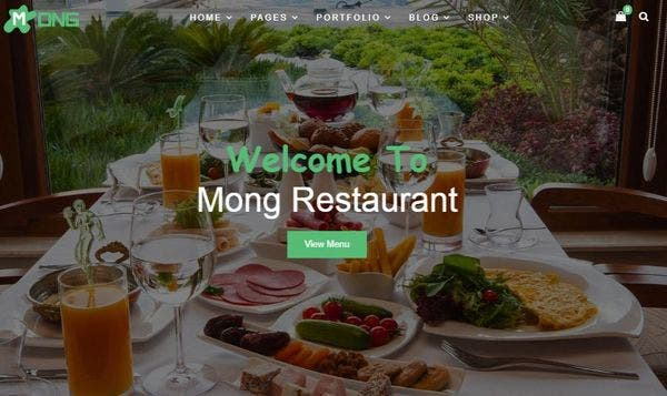 Mong Multipurpose – Fully Responsive WordPress Theme