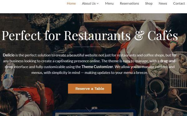 Delicio – eCommerce WordPress Theme