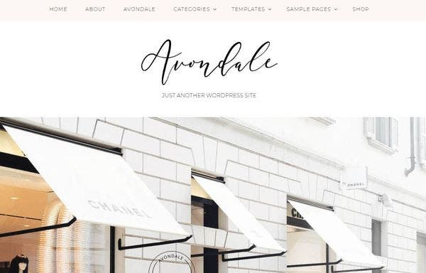 Avondale – Custom Loaded WordPress Theme