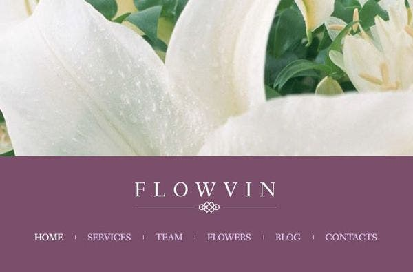 FlowVin: Vintage WordPress Theme