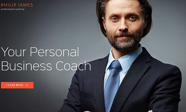 PJ – Powerful business coaching WordPress theme