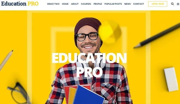 Education Pro - LMS WordPress Theme