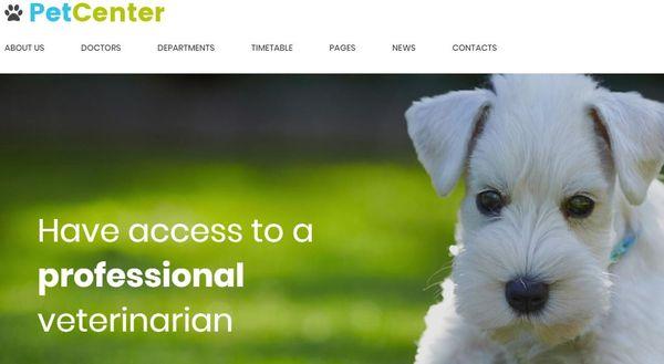 PetCenter – Timetable Plugin WordPress theme