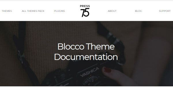 Blocco – Jetpack Powered WP Theme