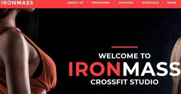 Ironmass - Cherry Installer Featured WordPress Theme