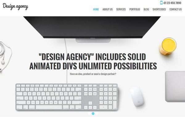 Design Agency Pro- Fast Loading WordPress Theme