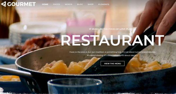 Gourmet – Opera WordPress Theme