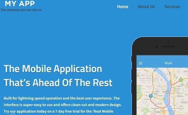 My App- SEO Optimized WordPress Theme