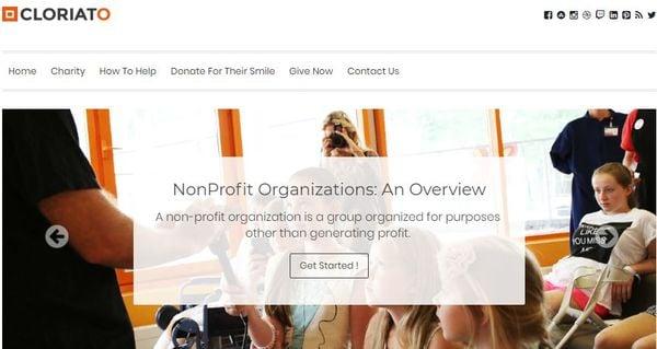 Cloriato – Donation Plugin Integrated WP Theme