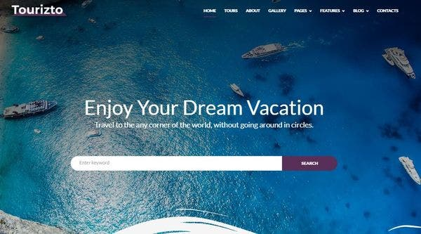 Tourizto – SEO Friendly WordPress Theme