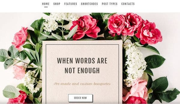 Flower Shop: Flexible WordPress Theme