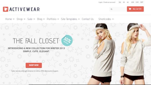 activewear-html-wordpress-theme