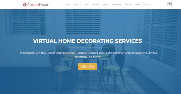 adornhome highly functional wordpress theme