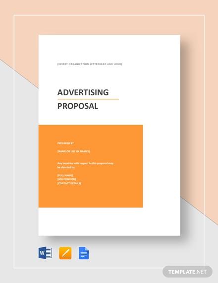 advertising proposal 2