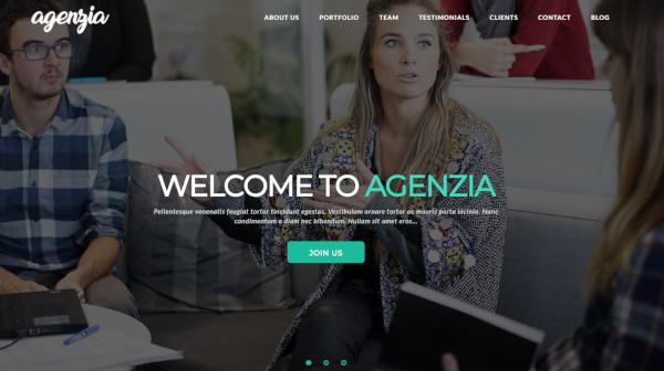 agenzia – 100 responsive wordpress theme