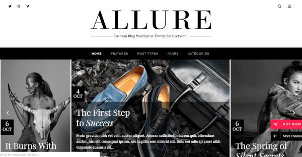Allure - WPBakery WordPress Theme