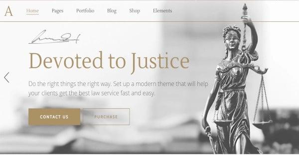 anwalt-user-friendly-wordpress-theme