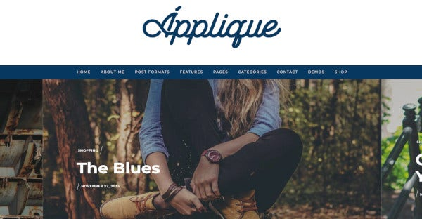 Applique – WooCommerce Ready WordPress Theme