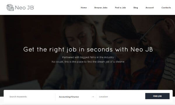 NeoJB – The Powerful option panel Supported WordPress Theme