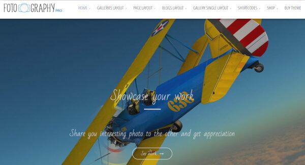 18. Fotography Pro – Multiple Layout WordPress Theme