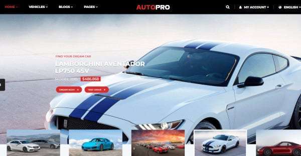 autopro – mobile friendly wordpress theme