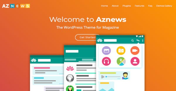 aznews – wpbakery page builder wordpress theme