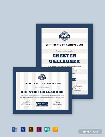 baseball award certificate template 440x570 1