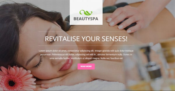 beauty spa – spa and massage wordpress theme