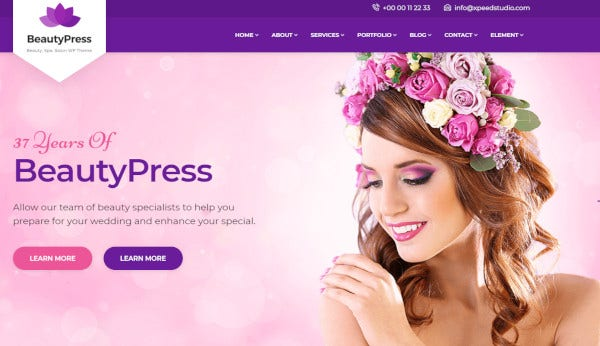 beautypress – one click installation wordpress theme